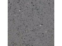 Quartz Worktop in Grey Starlight