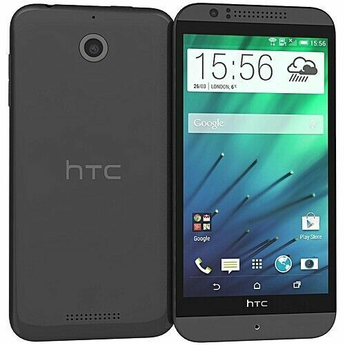 Android Phone - HTC DESIRE 510 PHONE BLACK / GRAY UNLOCKED (GSM Carriers) NEW CONDITION