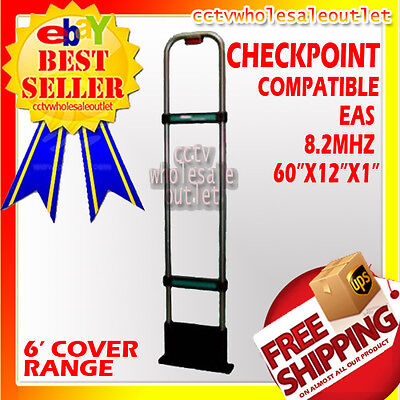 CHECKPOINT Compatible 8.2 Mhz EAS Security System Antenna Anti Theft-MADE IN USA