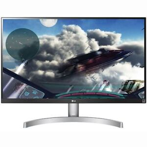 "LG 27UK600-W 27"" 4K HDR Freesync Monitor"
