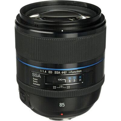 Samsung NX 85mm f/1.4 ED Lens