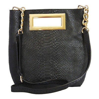 Michael Kors Bag Berkley MD Messenger Embossed Leather