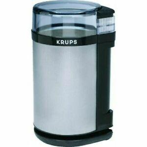 Krups GX4100-11 Electric Spice/Herbs/Coffee Grinder Stainless Steel