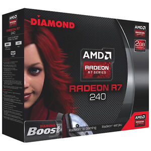 Brand New Never Used AMD R7 240 Video Card with 2GB