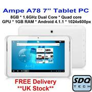 7 Tablet 1GB RAM