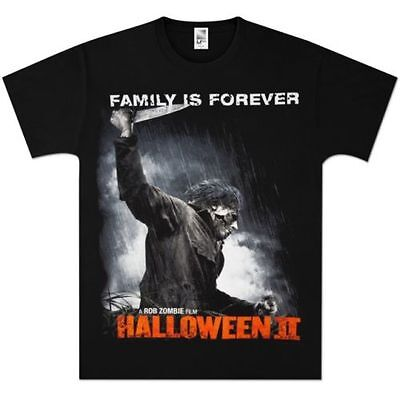 New: HALLOWEEN 2 - Family Is Forever (Rob Zombie) Movie T-Shirt