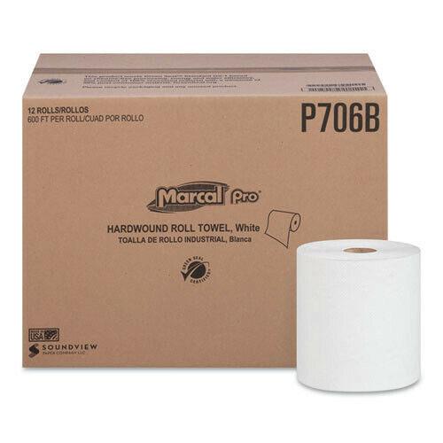 "Marcal PRO P706B 12/CT 7-7/8"" x 600"