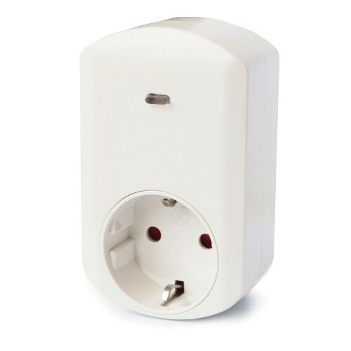 PHILIO - Z-Wave Schuko Wall Plug Switch with Power Metering PAN11