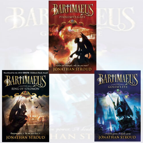 The Bartimaeus Sequence Series...