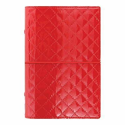 Filofax 2019 Personal Organizer Domino Luxe Red 6.75 X 3.75 Inches C027988-19