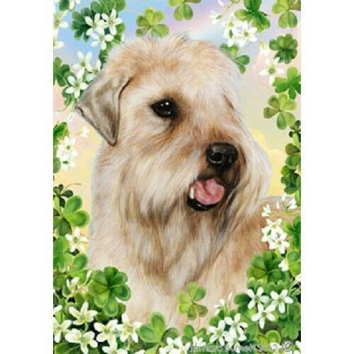 Clover House Flag - Wheaten Terrier 31056