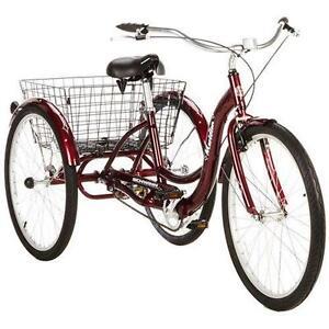 8731015536d 26 Schwinn Meridian Adult Tricycle