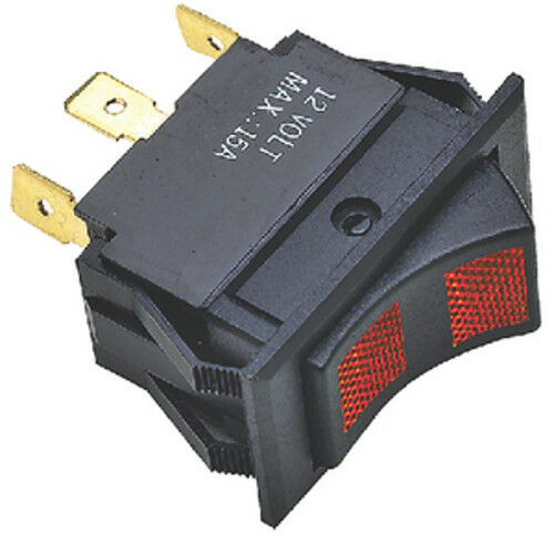 Off Contura Rocker Switch for Boats White Illuminated SPST 2 Position On