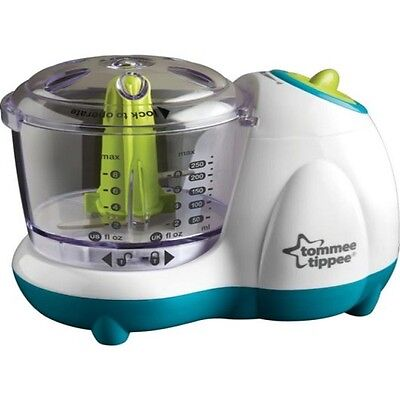 Brand New Tommee Tippee Explora Baby Toddler Small Handy Food Blender Processor