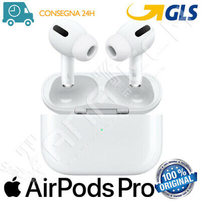 APPLE AIRPODS PRO ORIGINALE CUFFIE BLUETOOTH CUSTODIA RICARICA WIRELESS GLS 24H