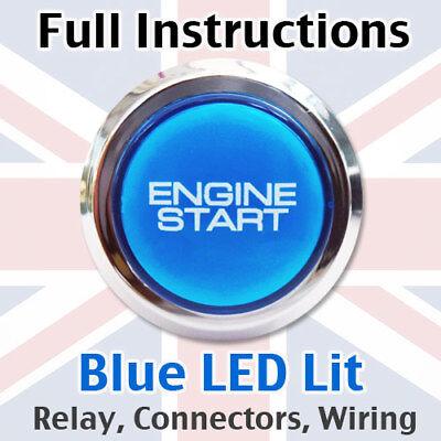 Engine Car Start Starter Stop Power Push Button Switch - Full DIY kit! BC