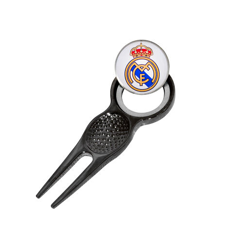 REAL MADRID FC DIVOT TOOL AND MAGNETIC GOLF BALL MARKER