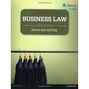 Business Law MacIntyre