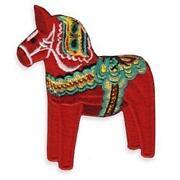 Schweden Pferd