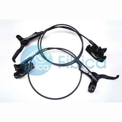 Hydraulic Disc Brake Pads (New Avid Elixir 1 Hydraulic Disc Brake Pair set+Brake Pads Black )