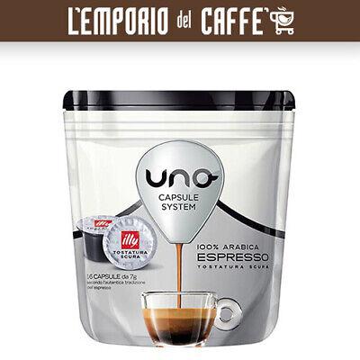 288 Cápsulas Café Illy Uno System Indesit Tueste Oscuro Negro -100% Originales