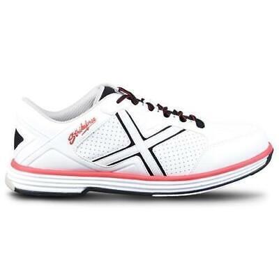 KR Mens Ranger White Black Red Bowling Shoes