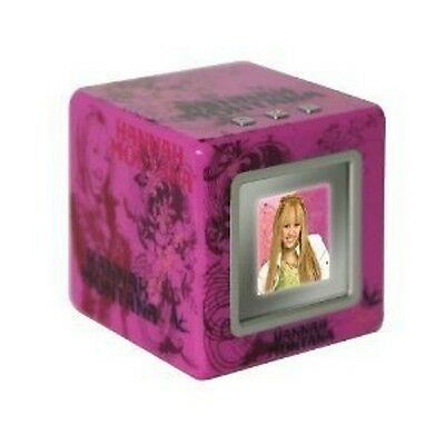 Digital Photo Cube (New Hannah Montana Digital Photo Cube Bright Pink Disney Vu-Me Hannah Intl Ship)