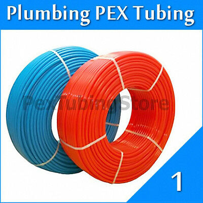 2 Rolls 1 X 100ft Pex Tubing For Potable Water Combo