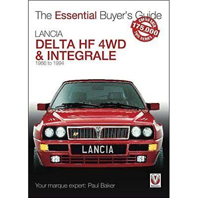 Lancia Delta HF 4WD & Integrale: 1987 to 1994 (Essentia - Paperback / softback N