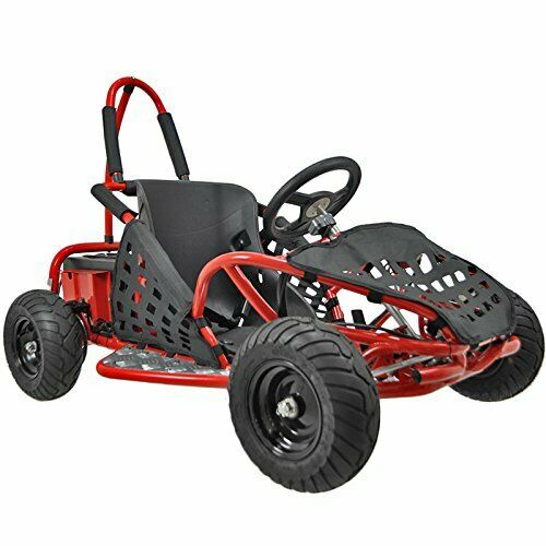 Baja X 1000W Electric Kids Go-Kart Red