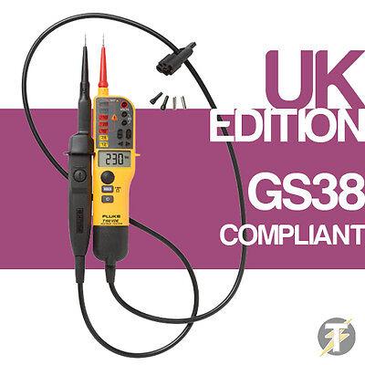 FLUKE T150 2 Polo Tensión Y Señal Acústica Continuidad Eléctrico Probador