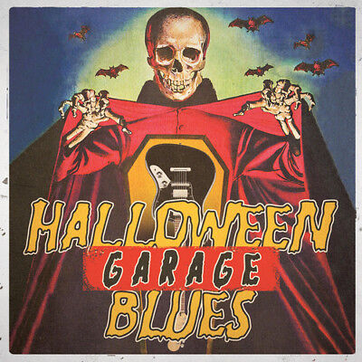 Various Artists - Halloween Garage Blues / Various [New CD]