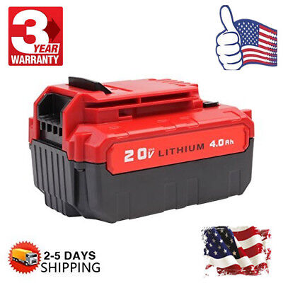 Hot For Porter Cable Pcc685l Pcc740b 20Volt Max Lithium Ion 20V 4 0Ah Battery Us
