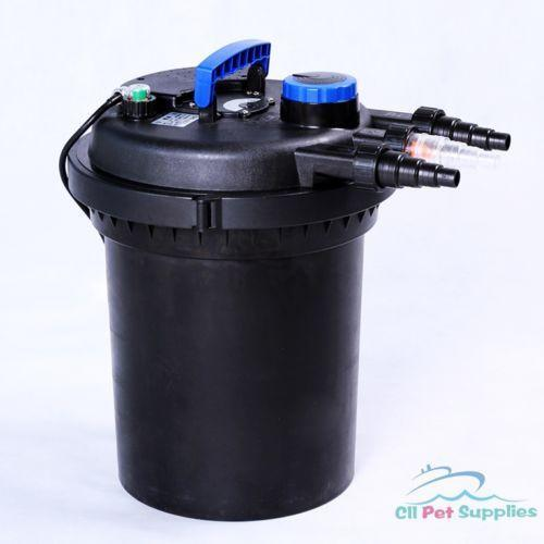 Fish pond filter ebay for Yard pond filters