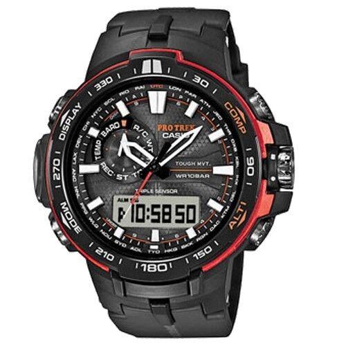 Casio Pro-trek Prw-6000y-1 World Time Watch