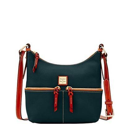Dooney & Bourke Pebble Grain Leather Alyssa Crossbody Bag Bl