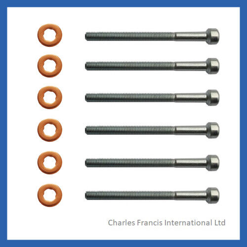 Mercedes S400 CDI Common Rail Diesel Injector Bolt /& Washer Seal Kit x 8