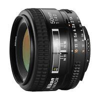 Nikon Nikkor AF 50mm f-1.4D Lens