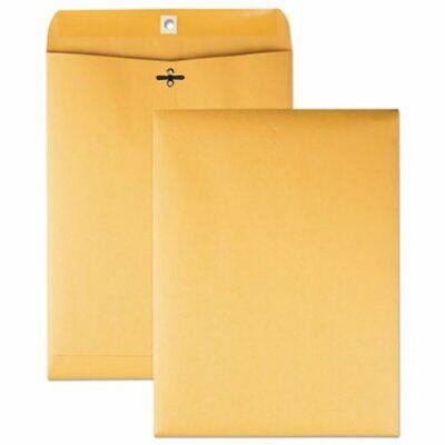 Quality Park Clasp Envelope 9 X 12 28lb Brown Kraft 100box Qua37890