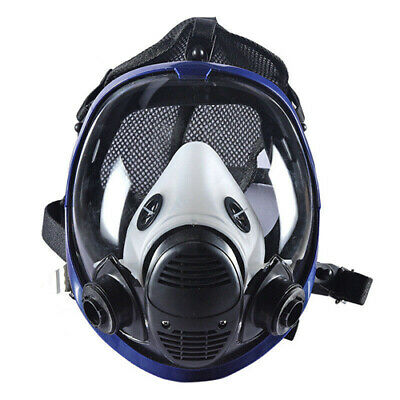 6800 Gas Mask Painting Spraying Full Face Facepiece Respirator New
