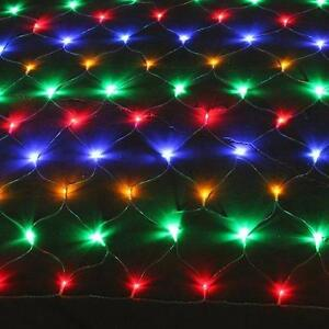 LED CHRISTMAS LIGHTS RGB 7 COLORS; BLUE (2 METERS)