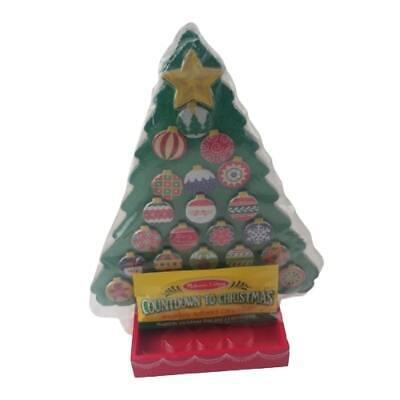 Countdown to Christmas - Wooden Advent Calendar and Melissa & Doug...