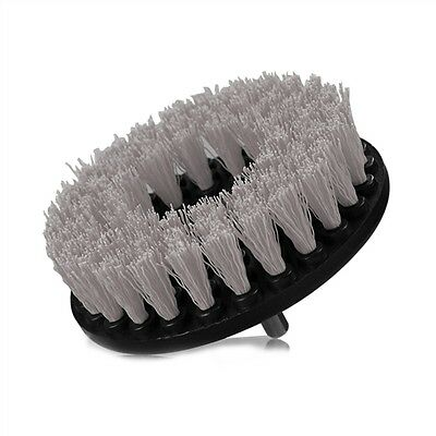 Drill Brush Soft Bristle Use w/Power Drill Upholstery Cleaning