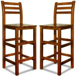 Lena Round White Steel And Wood Stackable Kitchen Stools Set Of 2 Simply Bar