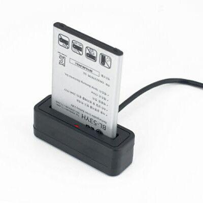 Portable USB Battery Charger Cradle Dock Holder Desktop For LG V20