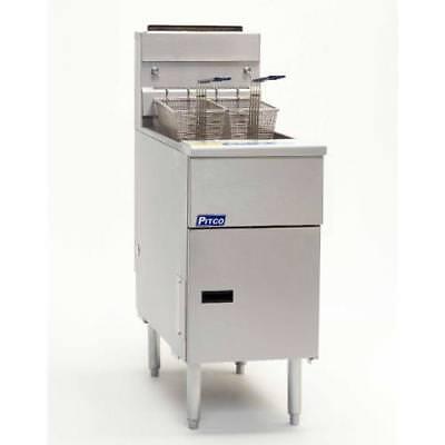 Pitco - Sg14s - Solstice Standard 50 Lb Gas Fryer
