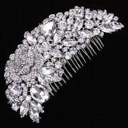 Silver Diamante Hair Clip