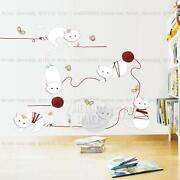 Removable Wall Stickers Cat