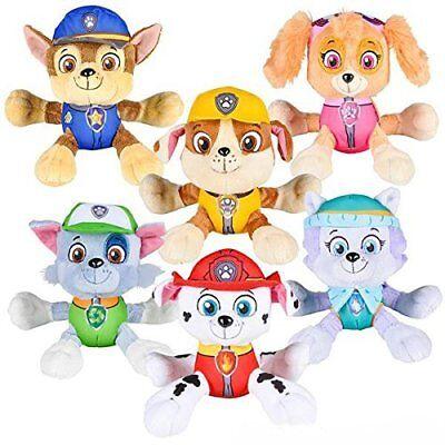 PAW Patrol Plush stuffed Toy SET Marshall Skye Everest Rocky Rubble Chase Doll