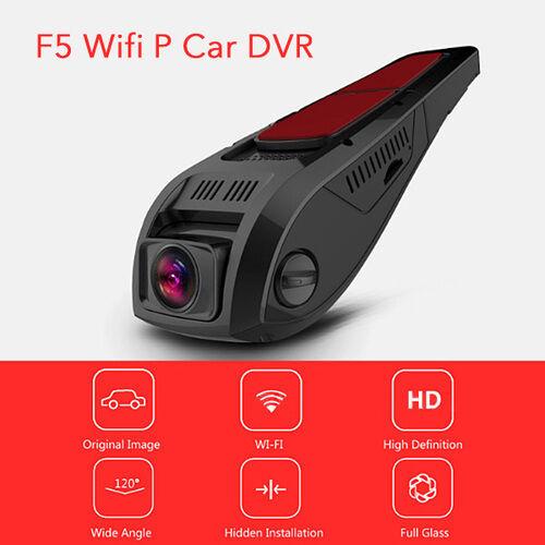 F5 Wifi 1080P Car DVR Camera Full HD Video Recorder Dash Cam Night Vision w/ Mic
